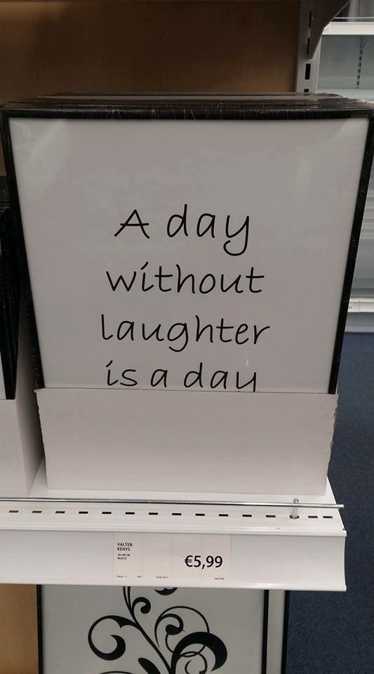 Font - A day without Laughter is a dau VALTER KEHYS €5,99
