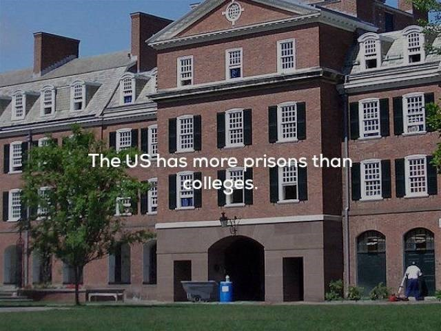 Building - ath ww w The UShas more prisons than Colleges. EEE