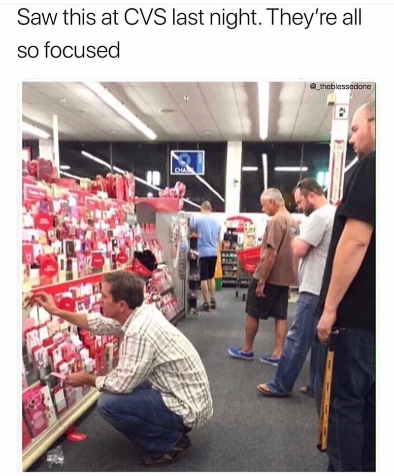 meme - Product - Saw this at CVS last night. They're all so focused @theblessedone CHA