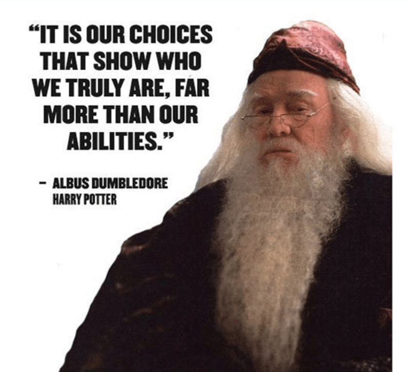"Facial hair - ""IT IS OUR CHOICES THAT SHOW WHO WE TRULY ARE, FAR MORE THAN OUR ABILITIES."" -ALBUS DUMBLEDORE HARRY POTTER"