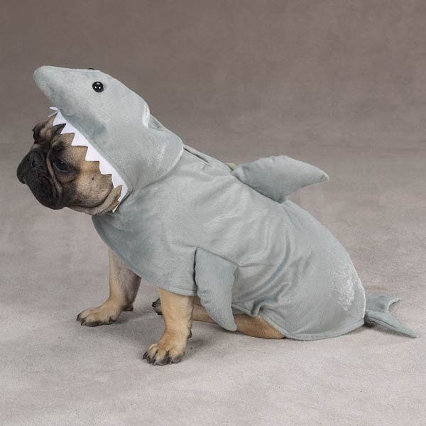 shark week costume - White