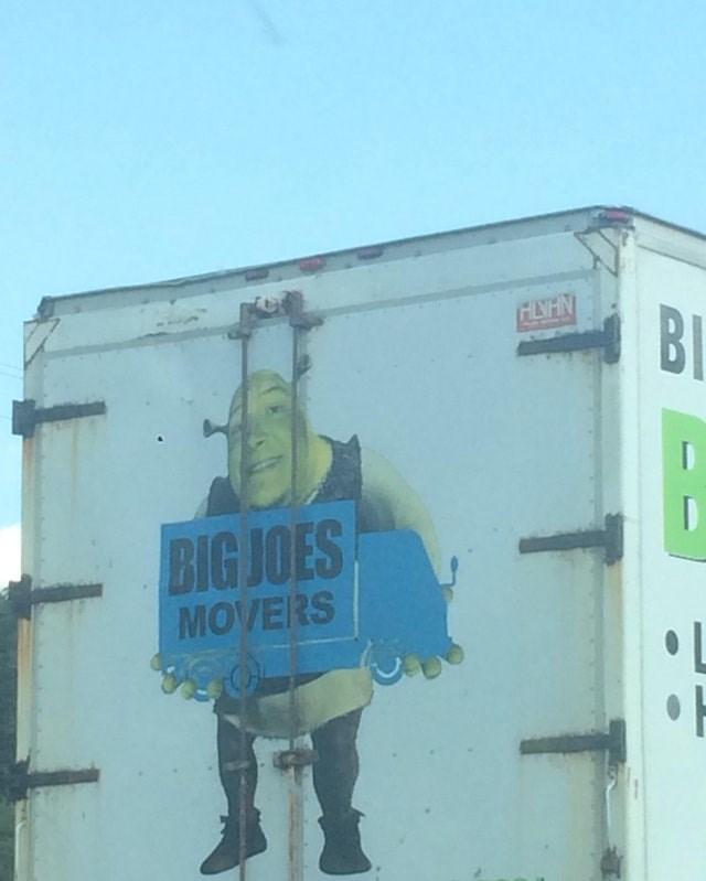 Advertising - HLNHN BI BIG JOES MOVERS -I
