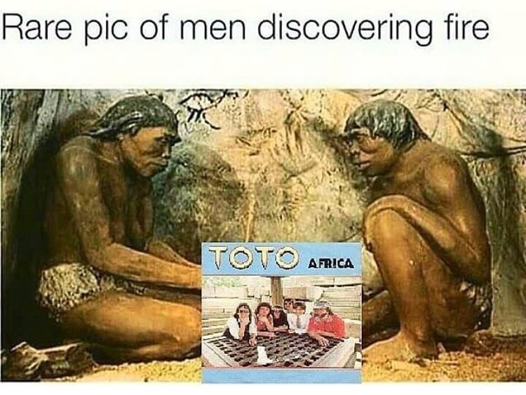 Funny meme about africa by toto.