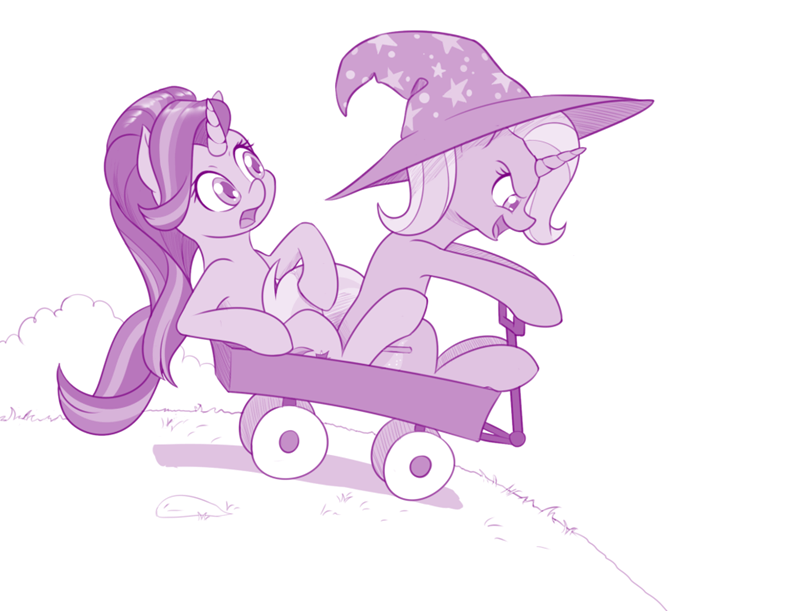 dstears the great and powerful trixie calvin and hobbes starlight glimmer ponify - 9196541184
