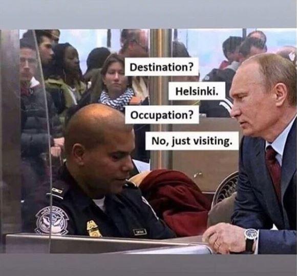 Event - Destination? Helsinki Occupation? No, just visiting