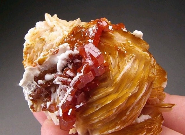 meme of a mineral cluster that looks like a pastry with jam