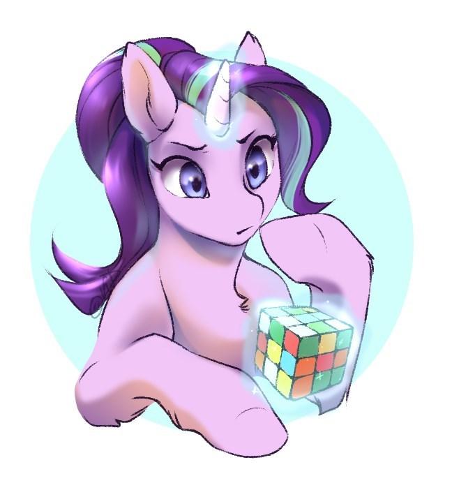 starlight glimmer rubiks cube - 9197492224
