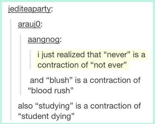 contraction word memes