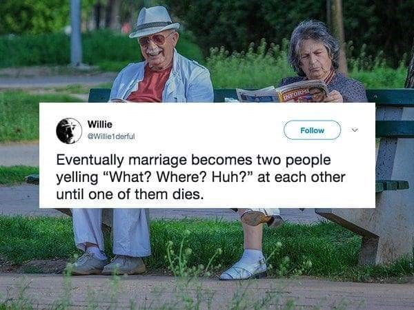 meme about marriage eventually becoming what where huh
