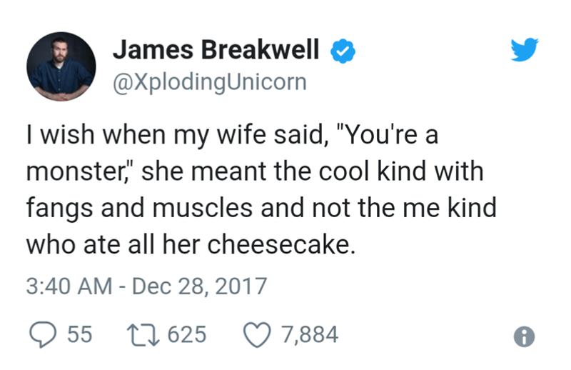 cheesecake meme monster