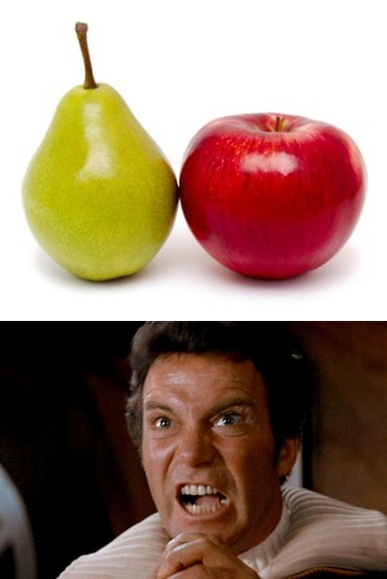 grand pear Star Trek William Shatner the perfect pear voice actors - 9198376448