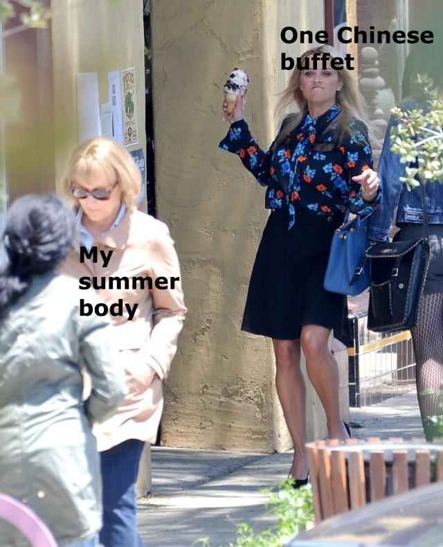 Fashion - One Chinese buffet My summer body