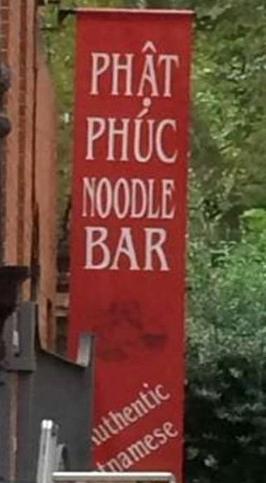 Banner - PHAT PHUC NOODLE BAR authentic namese