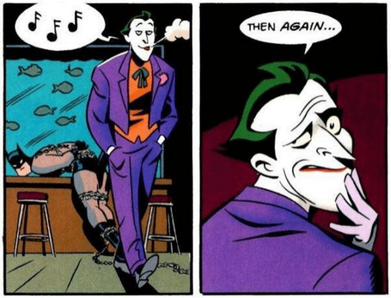 Comics - THEN AGAIN... D