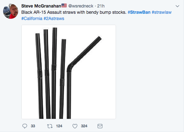 dank meme of ar 15 assault straws with banned bump stocks