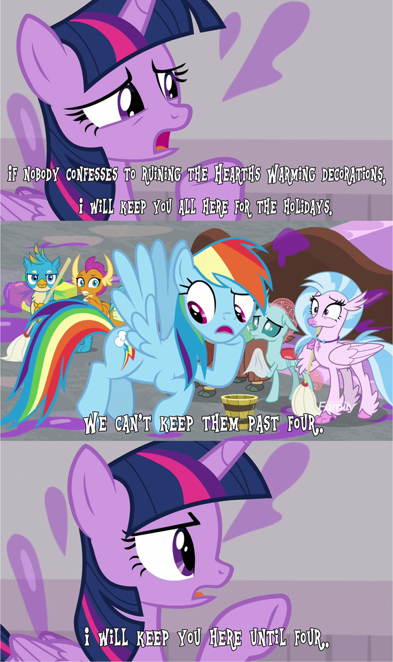 twilight sparkle screencap comic fun pictures of ponies the hearth's warming club rainbow dash - 9199379456