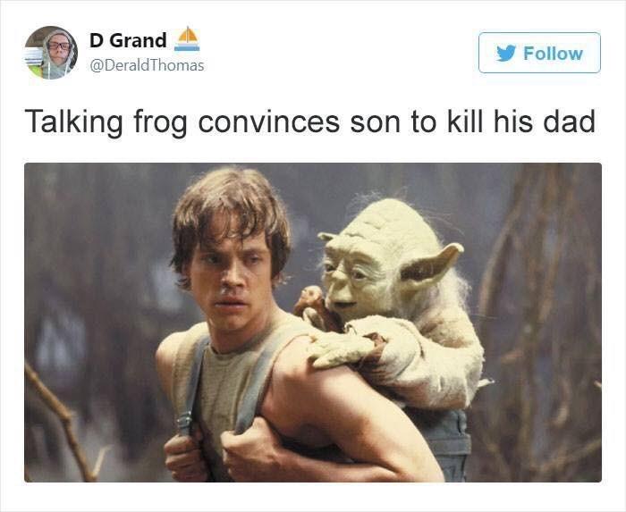 Adaptation - D Grand Follow @DeraldThomas Talking frog convinces son to kill his dad