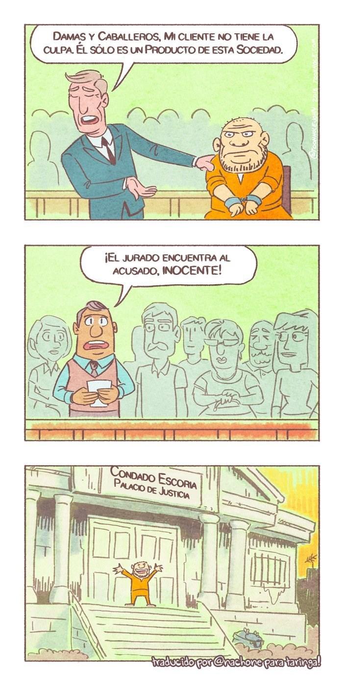 justicia en tiempos modernos