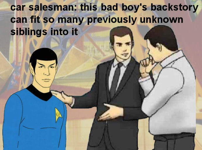 Funny star trek meme.