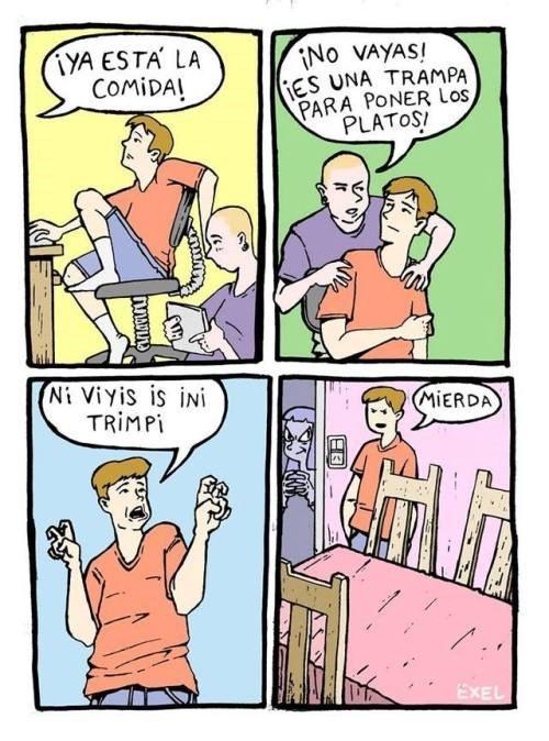 trampas que mama usa para sus hijos