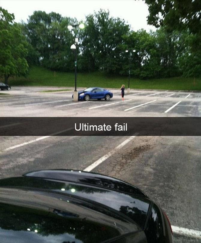 snapchat - Vehicle - Ultimate fail