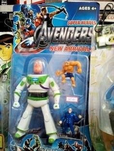 Action figure - AGES SUPER MERGES AVENTERS NEW ARRIVAL