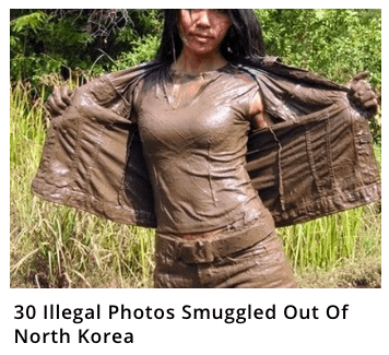 Pic of a girl with mud all over her body