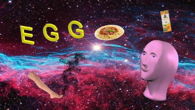 egg meme - Astronomical object - EG GO