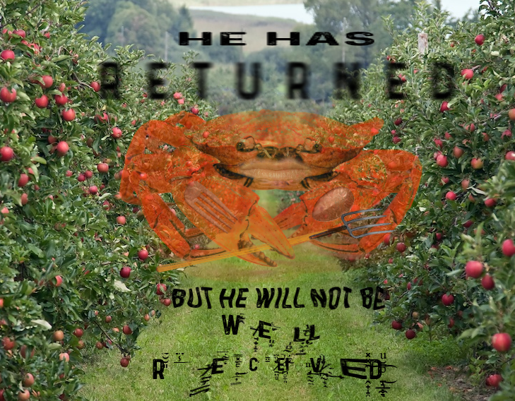 Surreal meme - Flower - HE H AS RETURNE D BUT HE WILL NOT BE WE L CEF