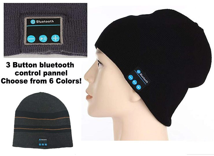Cap - Bluetooth 3 Button bluetooth control pannel Choose from 6 Colors! Blueteoth