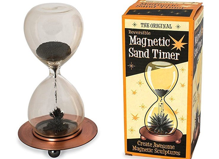 Drinkware - A THE ORIGINAL * Reversible Magnetic Sand Timer Create Awesome Magnetic Sculptures ooCla