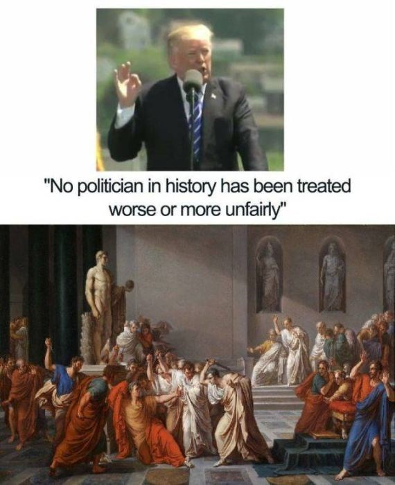 """Adaptation - """"No politician in history has been treated worse or more unfairly"""""""