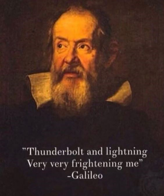meme about galileo singing his line from the queen song