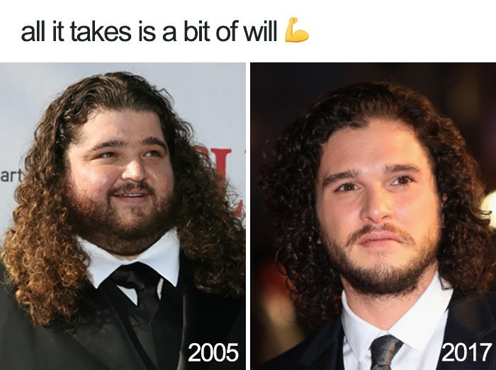 Hair - all it takes is a bit of will art 2017 2005