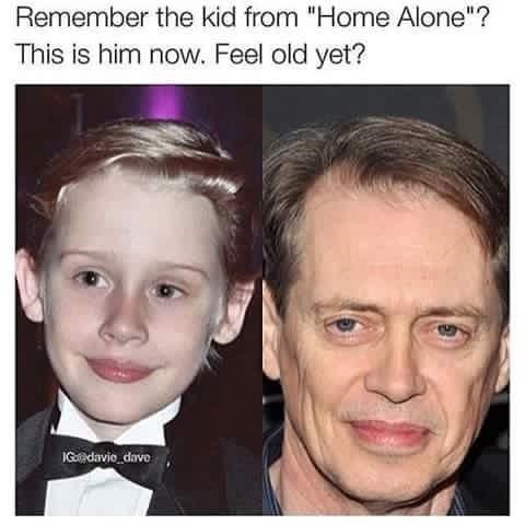 """Face - Remember the kid from """"Home Alone""""? This is him now. Feel old yet? IGadavie dave"""