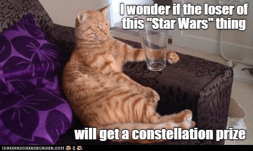 May the pun be with you