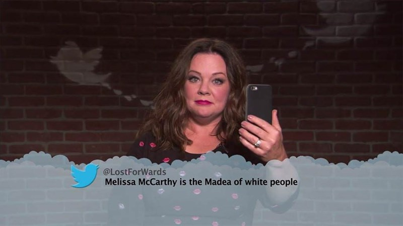 Text - @LostForWards Melissa McCarthy is the Madea of white people