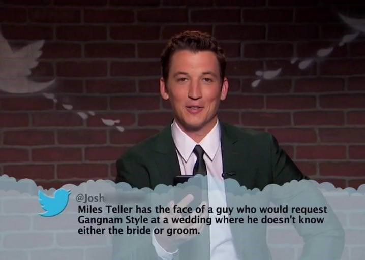 Photograph - @Josh Miles Teller has the face of a guy who would request Gangnam Style at a wedding where he doesn't know either the bride or groom.