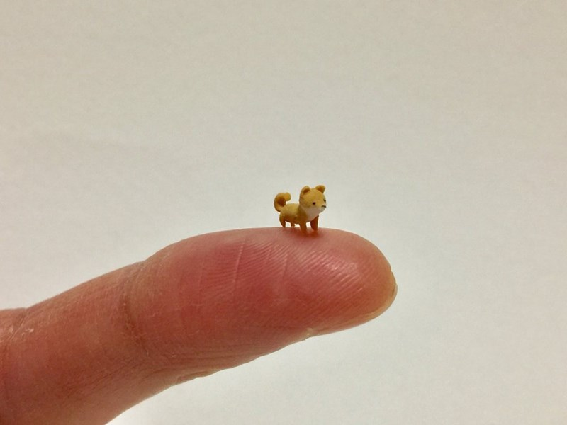 tiny animal art - Finger