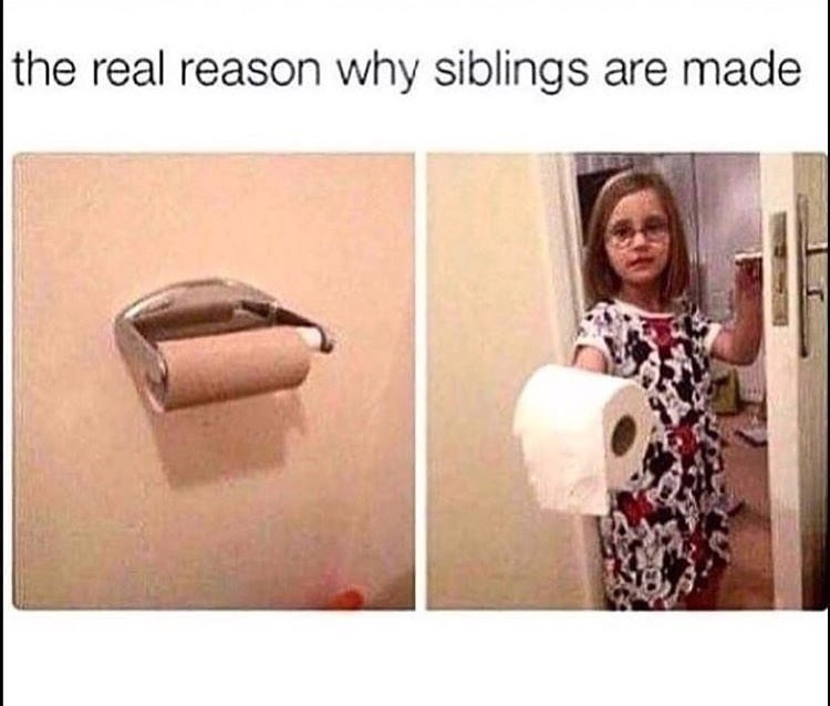 Selfie - the real reason why siblings are made
