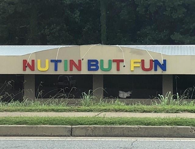 Text - NUTIN BUT FUN