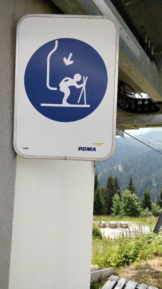 Signage - POMA 12007
