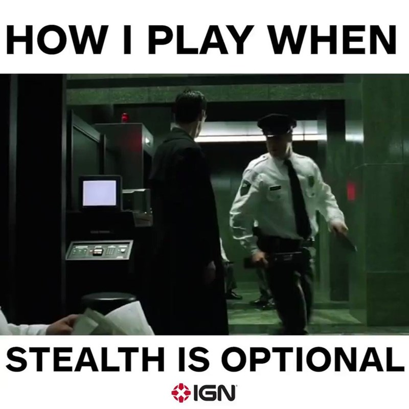 Font - HOW I PLAY WHEN STEALTH IS OPTIONAL IGN