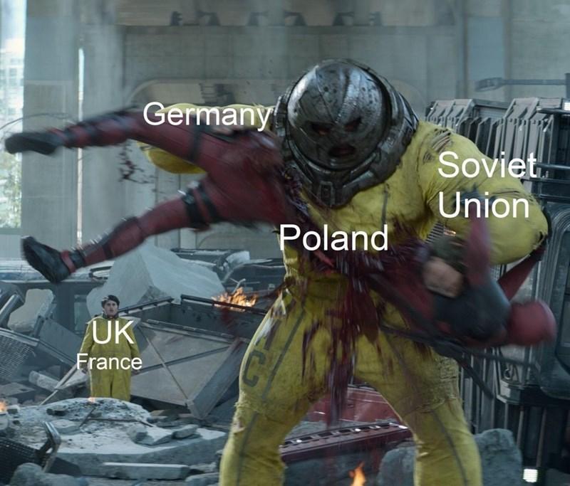 military meme - Action-adventure game - Germany Soviet Union Poland UK France C