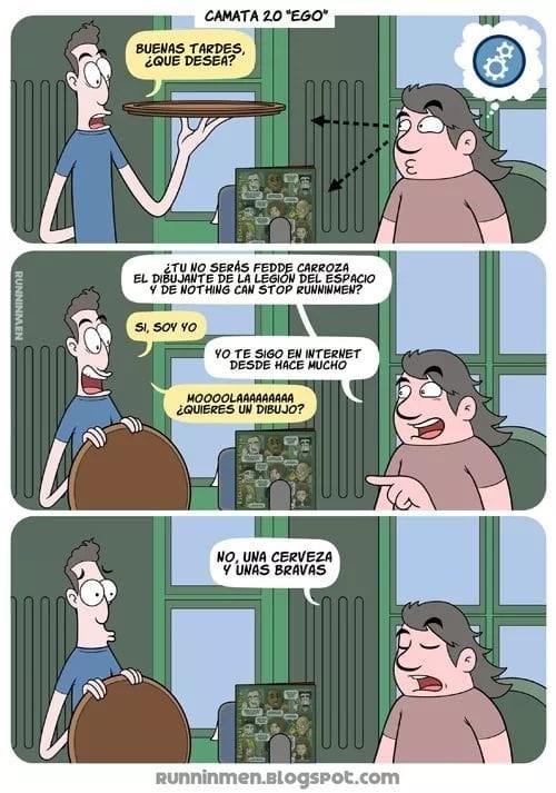 historia triste de caricaturista de internet