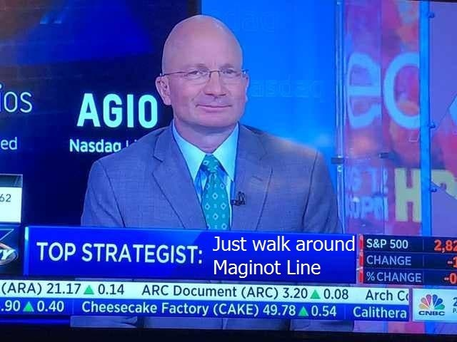 military meme - News - ec asdec os AGIO OS ed Nasdao H 62 TOP STRATEGIST: Just walk around s&p 500 2,82 CHANGE % CHANGE (ARA) 21.17A 0.14 ARC Document (ARC) 3.20 0.08 Arch C 90 0.40 Cheesecake Factory (CAKE) 49.78 A 0.54 Calithera Maginot Line 0 CNBC
