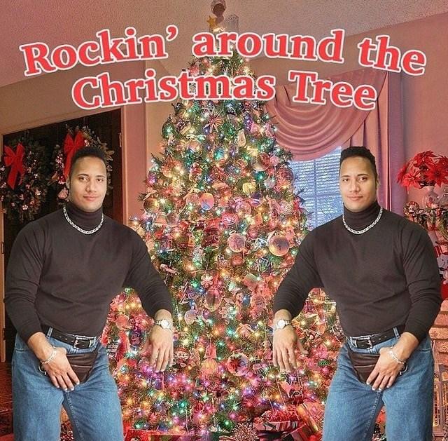 Christmas tree - Rockin around the Christmas Tree