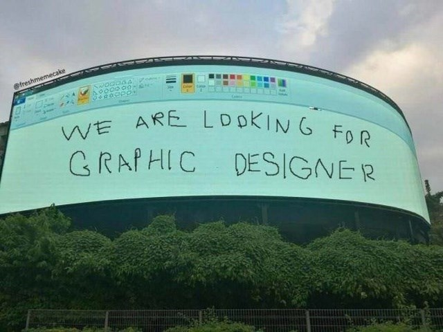 Sky - @freshmemecake AP00000- VE ARE LDOKING FoR GRAPHIC DESIGNER he