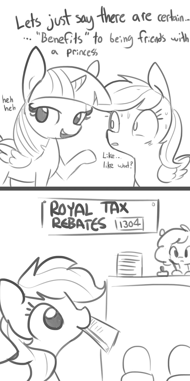 horse taxes tj pones twilight sparkle puns rainbow dash comic - 9204463616