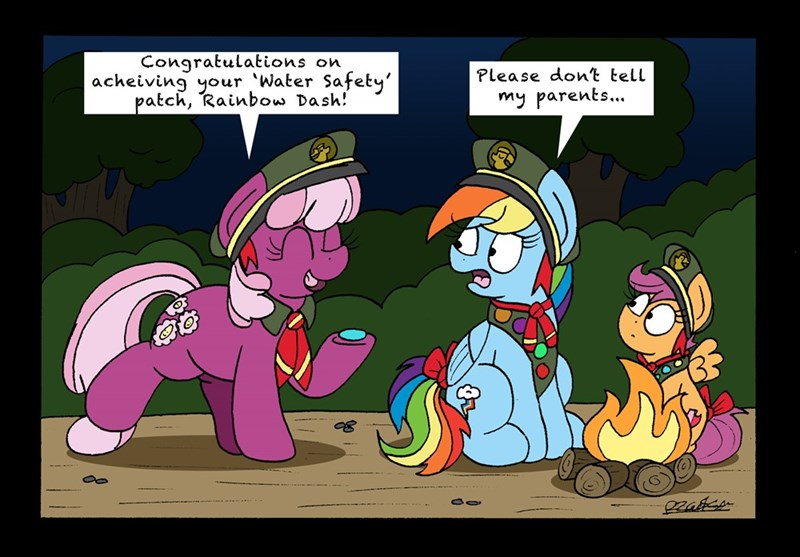 cheerilee bob the dalek the end in friend Scootaloo rainbow dash - 9204465152